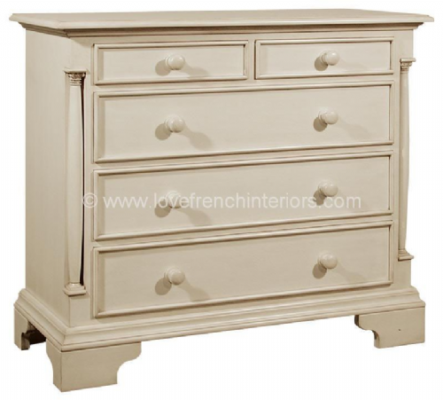 Roseline 2 over 3 Drawer Chest